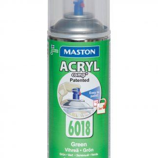 Акрилна боя на спрей-зелено
