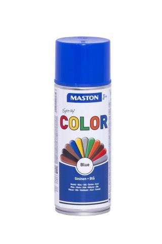 Синтетична боя на спрей-синьо