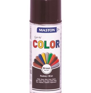 Синтетична боя на спрей-кафяво
