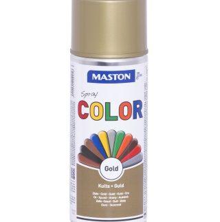 Синтетична боя на спрей-златисто