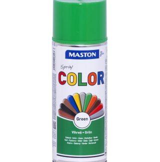 Синтетична боя на спрей-зелено